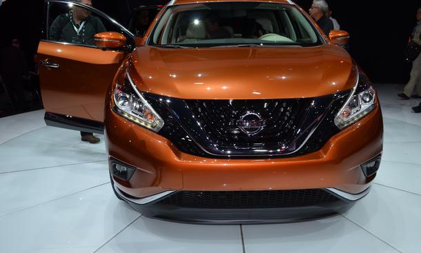 Nissan Murano 2015 SUV Premiere New York Auto Show 2014 Offroader Bilder Design