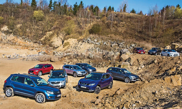 Nissan Qashqai vs. neun Gegner: Kompakt-SUV im Mega-Vergleich