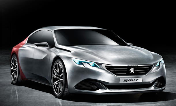 Peugeot Exalt 2014 Peking B14 Auto China Studie viertüriges Coupé