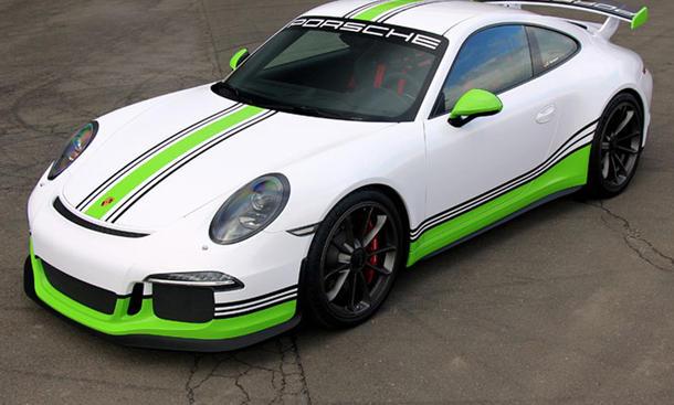 Porsche 911 GT3 991 Fostla Folienbeschichtung Supersportler Tuning Bilder