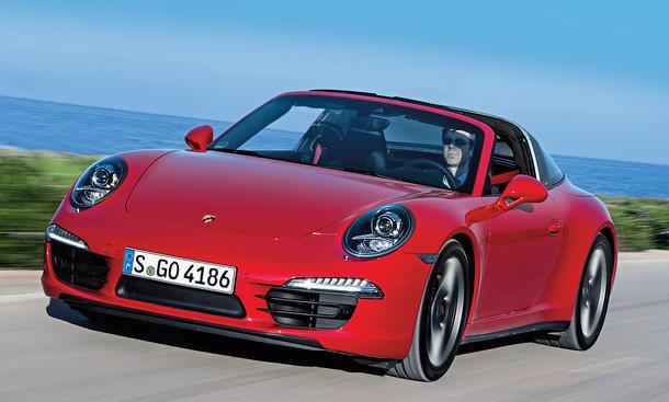 Porsche 911 Targa 4 Fahrbericht Bilder technische Daten