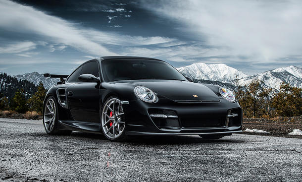 Porsche 997 V-RT Edition 911 Turbo Vorsteiner Tuning Supersportler