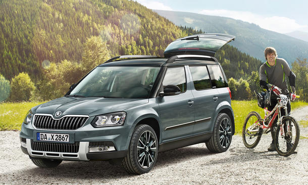 skoda yeti adventure sondermodell mit preisvorteil. Black Bedroom Furniture Sets. Home Design Ideas