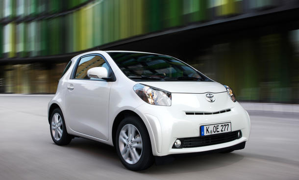 Toyota iQ Europa Produktionsende 2014 City-Car
