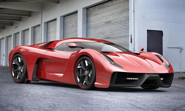 Ferrari 458 Italia Ugur Sahin Design Project F Studie Bilder Concept Car Supersportler-Studie