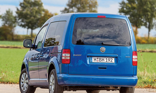 vw caddy 1 6 tdi 2014 bluemotion diesel im test. Black Bedroom Furniture Sets. Home Design Ideas