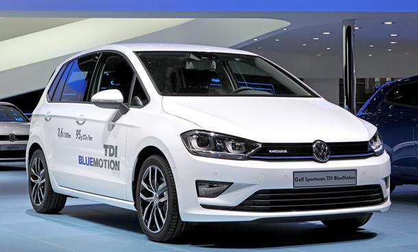 VW Golf Sportsvan Preis TDI BlueMotion 2014 Van technische Daten Ausstattungen