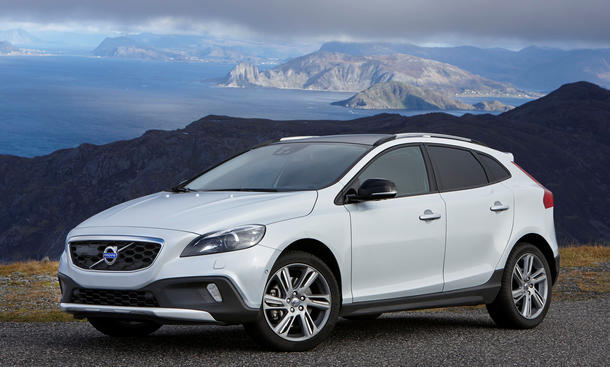 Volvo V40 Cross Country You Preis Sondermodell 2014 Bilder