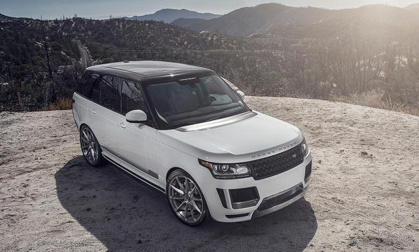 Vorsteiner Range Rover Veritas 2014 Tuning USA Cars & Girls