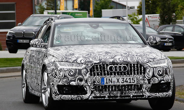 2014 Audi A6 Facelift Erlkoenig Avant Oberklasse Kombi