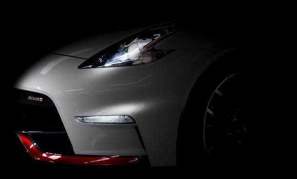 Nissan 370Z Nismo 2015 Teaser neues Modell Sonderedition