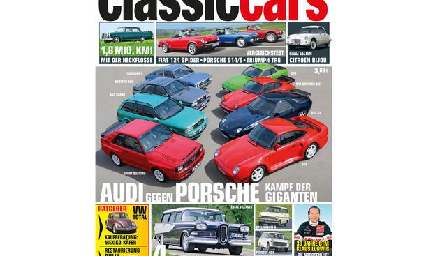 AUTO ZEITUNG Classic Cars 06 2014 Heft Vorschau Cover