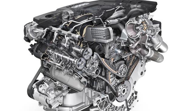 Audi 3.0 TDI 2014 V6-Diesel-Motor Euro-6 clean 218 272 PS