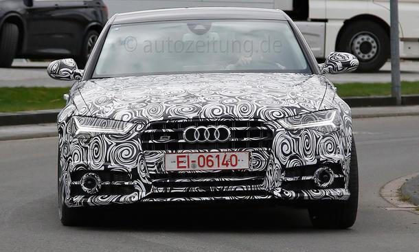 Audi A6 Facelift 2014 S6 Erlkönig C7 Sportlimousine Prototyp Bilder