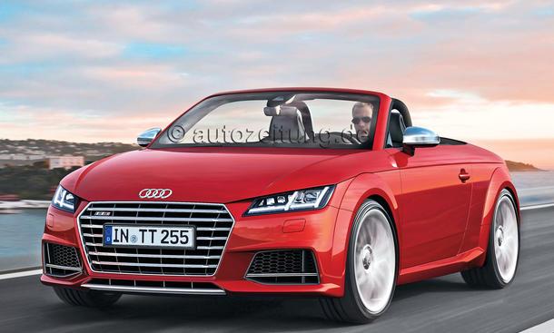 Audi TT Roadster Neuheit Bilder