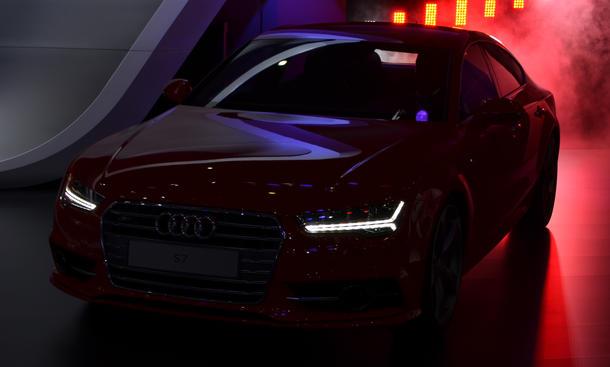 Audi S7 Facelift 2014 AMI Leipzig Live Fotos Weltpremiere A7 Sportback Modellpflege