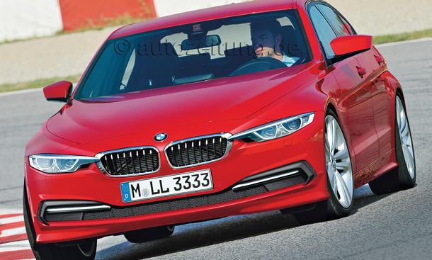 BMW 3er Limousine Neuheit Bilder