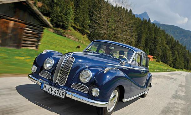 BMW 502 3,2 Super Ikone Bilder technische Daten