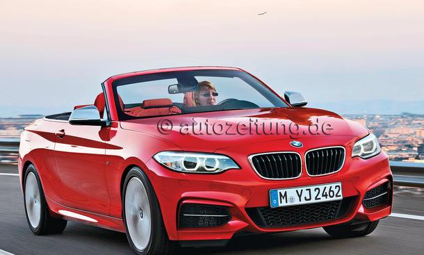 BMW M235i Cabrio Neuheit Bilder