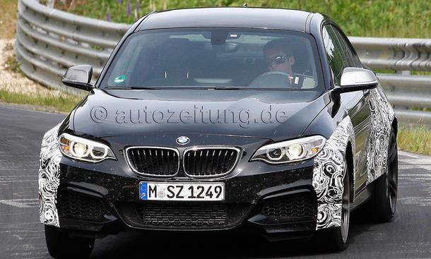 BMW M2 2016 Erlkoenig F87 Kompaktsportler Nuerburgring
