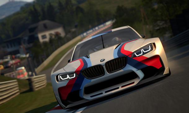 BMW Vision Gran Turismo 6 Playstation 3 Rennwagen 2014 Virtuelle Studie