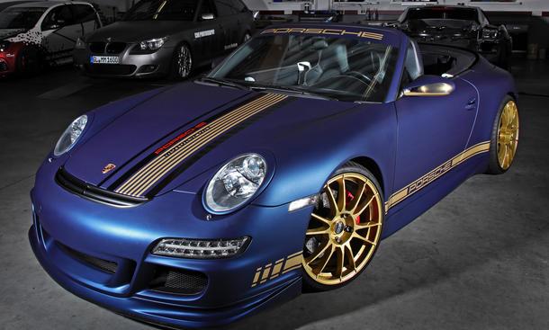 CamShaft Porsche 911 Cabrio Folierung 997 Tuning