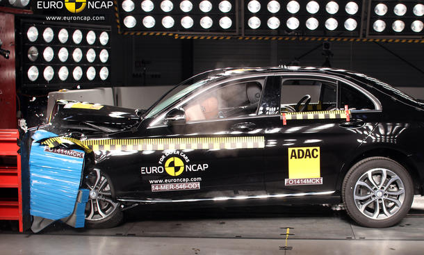 Euro NCAP Crashtest Mercedes C-Klasse 2014 W205 Sicherheit