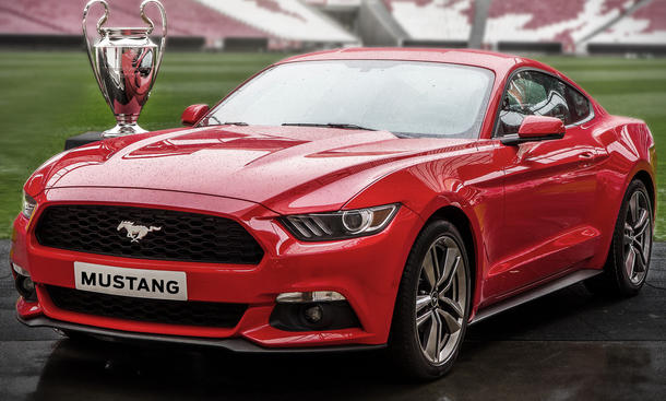 Ford Mustang 2014 Europa Champions League Finale Vorbestellung