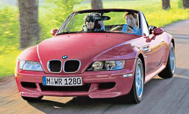 BMW M Roadster Gebrauchtwagen Sportwagen Bilder Preise