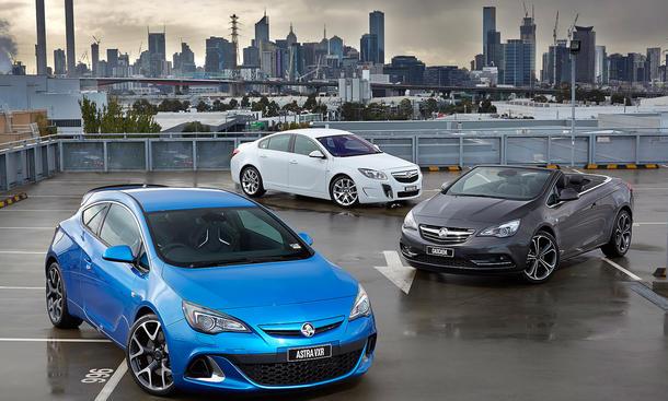 Opel Australien Comeback 2015 Holden Astra Cascada Insignia