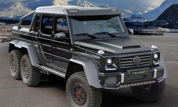 Mansory Mercedes G 63 AMG 6x6 Tuning 840 PS