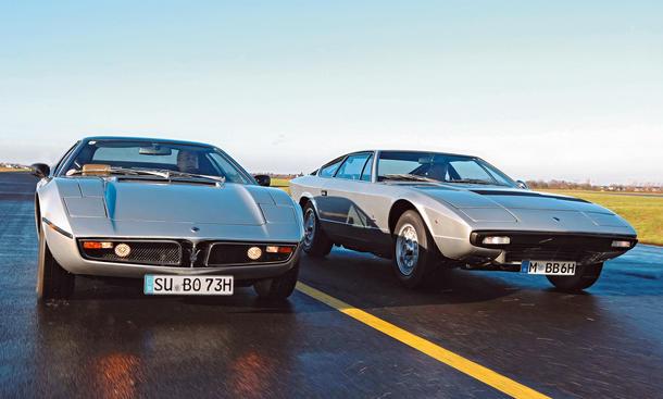 Maserati Bora Khamsin Traumwagen Bilder technische Daten