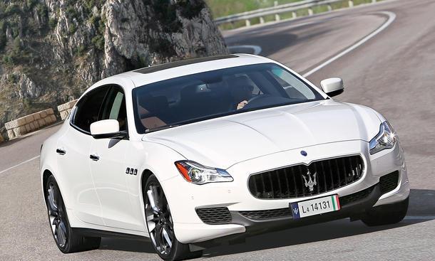 Maserati Quattroporte Diesel 2014 Test Fahrbericht