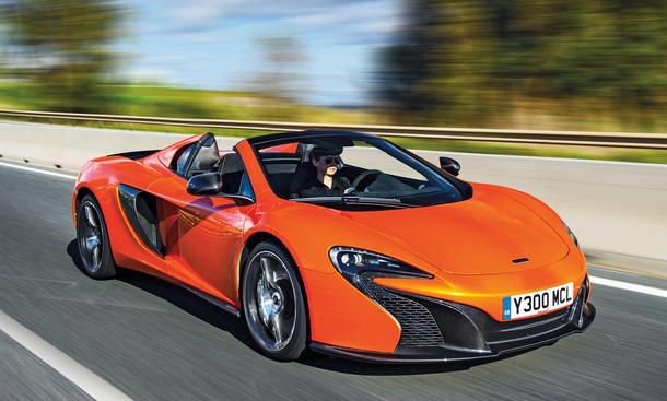 mclaren 650s spider: fahrbericht zum britischen sportwagen |