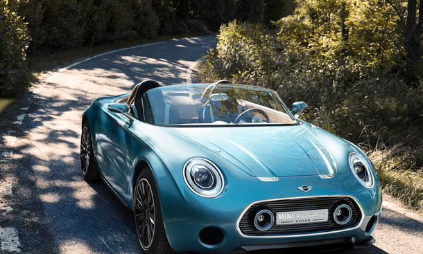 Mini Superleggera Vision Roadster Concept Car Studie 2014 Concorso d'Eleganza Villa d'Este
