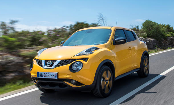 nissan juke facelift 2014 preis f r das mini suv. Black Bedroom Furniture Sets. Home Design Ideas
