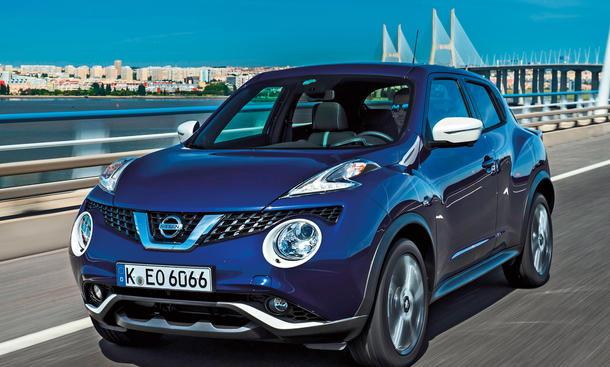 Nissan Juke Facelift 2014 Fahrbericht Bilder