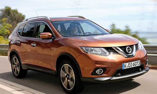 Nissan X-Trail 1.6 dCi: Neues Crossover-SUV im Fahrbericht ...