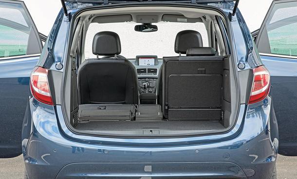 opel meriva vs citroen c3 picasso ford b max minivan. Black Bedroom Furniture Sets. Home Design Ideas