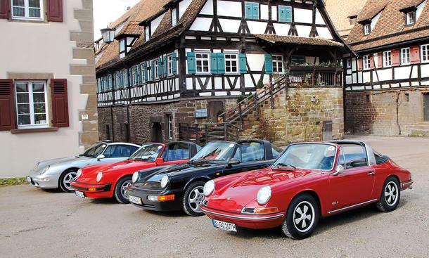 porsche 911 targa 19651998 classic cars  autozeitungde
