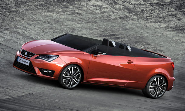 Seat Ibiza CUPster 2014 Woerthersee Roadster Cabrio Showcar