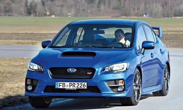 Subaru WRX STI 2014 Test Fahrbericht