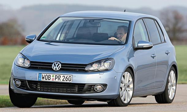VW Golf Gebrauchtwagen GTÜ Bilder