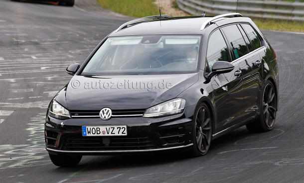 VW Golf R Variant 2015 Erlkönig Nürburgring Power-Kombi