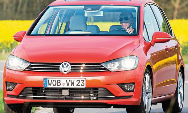VW Golf Sportsvan 2014 Test Fahrbericht Bilder