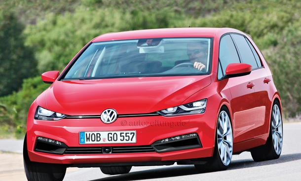 VW Golf VIII 2017 Nachfolger Neuheit Bilder