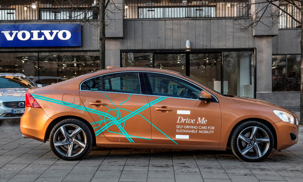 Volvo Drive Me Autonomes Fahren Serienreife 2020 Pilotprojekt Leasing