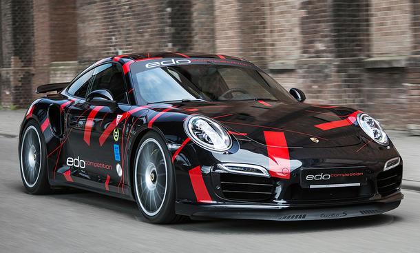 edo competition Porsche 911 Turbo S 991 Tuning 2014