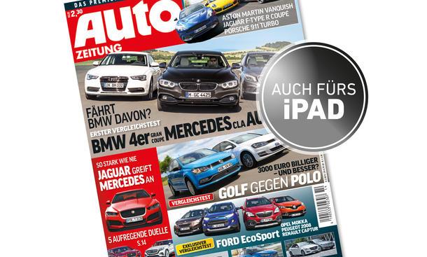 AUTOZEITUNG 14/2014 Heft-Vorschau Cover