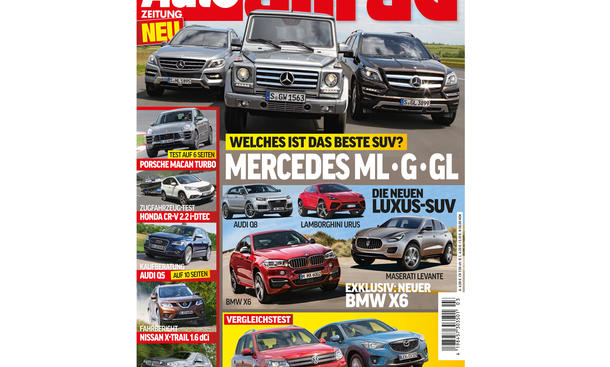 AUTO ZEITUNG Allrad 03/2014 Vorschau Cover